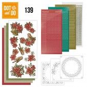 Hobbydots dot & do 139 - Poinsettia Christmas
