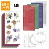 Hobbydots dot & do 140 - Winter Flowers