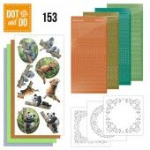 Hobbydots dot & do 153 - Wild Animals