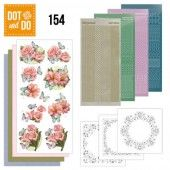 Hobbydots dot & do 154 - Pink Flowers