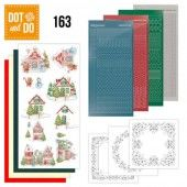 Hobbydots dot & do 163 - Sweet Houses