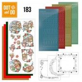 Hobbydots dot & do 183 - Yvonne Creations - Christmas Village - Christmas Village