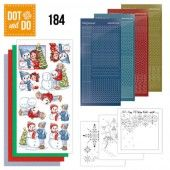 Hobbydots dot & do 184 - Yvonne Creations - Bubbly Girls - Christmas