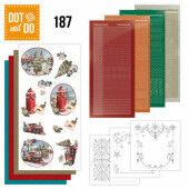 Hobbydots dot & do 187 - Amy Design - Nostalgic Christmas - Christmas Train