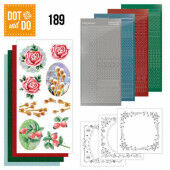 Hobbydots dot & do 188 - Jeanine's Art - Winter Flowers