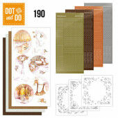 Hobbydots dot & do 188 - Jeanine's Art - Yellow Forest