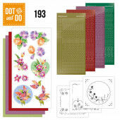 Hobbydots dot & do 193 - Jeanine's Art - Orchid