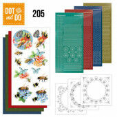 Dot and Do 205 -  Jeanine's Art - Humming Bees