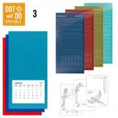 Hobbydots dot & do - Special 3 -  Papegaai 1