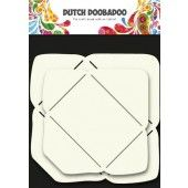 Dutch Doobadoo Dutch Envelope stencil rechthoek 2x small 9x6,5cm / 11x8cm (470.713.002)*