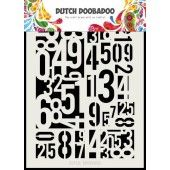 Dutch Doobadoo Dutch Mask Art Cijfers A5 (470.715.146) (01-20)*