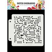 Dutch Doobadoo Dutch Mask Art Motherboard 163x148 (470.715.145) (12-19)*