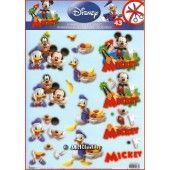3D Push out - Disney - Mickey and friends 43
