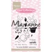 Marianne D Clear Stamp Eline`s cute animals - konijntjes EC0178 (04-19)