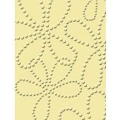 Embossing folder: Spotted Flowers