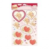 A4 Decoupage Pack - Forever love - Valentine