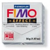 Fimo Effect metallic zilver 57 GR (8020-81)