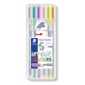 Fineliner Triplus 0.3MM 6st. box (334 SB6CS1)