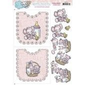 Hobbydots Sheets - Baby Girl - Yvonne Creations