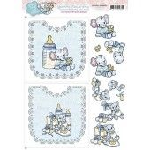Hobbydots Sheets - Baby Boy - Yvonne Creations