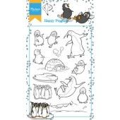 Clearstamp - Marianne D - Hetty`s Happy Pinguins (HT1628)