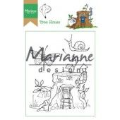 Marianne D Clear Stamp Hetty`s Tree house HT1642 15,5 x 10,5 cm (03-19)*