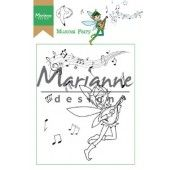 Marianne D Clear Stamp Hetty`s Musical Fairy HT1643 15,5 x 10,5 cm (03-19)*