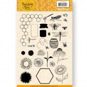 Clear Stamps - Jeanines Art - Buzzing Bees