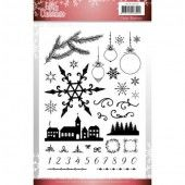 Clear Stamps - Jeanine's Art - Lovely Christmas