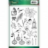 Clear Stamps - Jeanine's Art - Christmas Flowers
