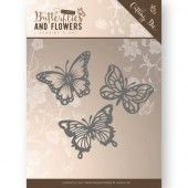 Die - Jeanine's Art - Classic Butterflies and Flowers - Butterflies