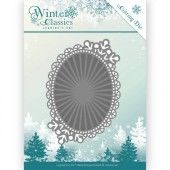 Die - Jeanine's Art - Winter Classics - Mirror Oval