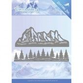 Die - Jeanine's Art - Wintersports - Mountain Border