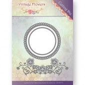 Dies - Jeanine's Art - Vintage Flowers - Flowers and Circles
