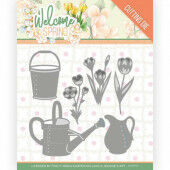 Dies - Jeanine's Art - Welcome Spring - Watering Can and Bucket