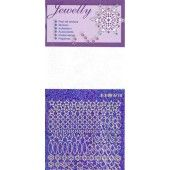Jewelly - Lace snowflake stickerset