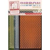 Ribbon (lint) stickers - Polka dots Mirror