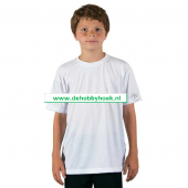 Bedrukt Vapor Sublimatie textiel - Kinder shirt Short Sleeve (Unisex) (BT009)