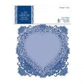 Lace paper - Parisienne blue