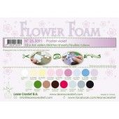 LeCrea - 10 Flower Foam sheets A4 0,8mm pastel violet 25.5091 (25.5091)