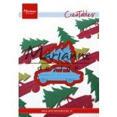 Marianne Design - Creatables - Driving home for Christmas (LR0567) (AFGEPRIJSD)