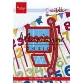 Marianne D Creatable - Bunting Banners - 103x12,5mm (LR0581)