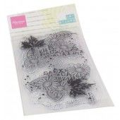 Marianne D Clear Stamps Art stamps Chrysant MM1633 85x185 mm (09-20)