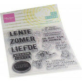 Marianne D Clear Stamps Art stamps - zomertijd (NL) MM1638 95x160mm (02-21)