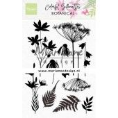Marianne D Clear Stamps Colorful Silhouette - Botanisch CS1048 110x150mm (02-20)