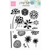 Marianne D Clear Stamps Colorful Silhouette - Fantasie CS1047 110x150mm (02-20)