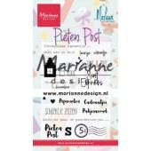 Marianne D Clear Stamps Pietenpost by Marleen (NL) CS1042 105x180 mm (11-19)