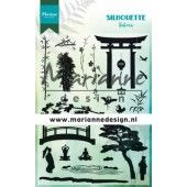 Marianne D Clear Stamps Silhouette Sakura CS1033 115x185 mm (08-19)
