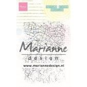 Marianne D Clear Stamps Texture stamps - Crackles MM1628 95x140mm (03-20)