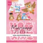 Marianne D Collectable Eline's uil 112,5x85 mm (COL1475) (AFGEPRIJSD)